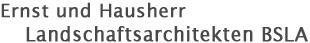 Ernst und Hausherr Landschaftsarchitekten Logo